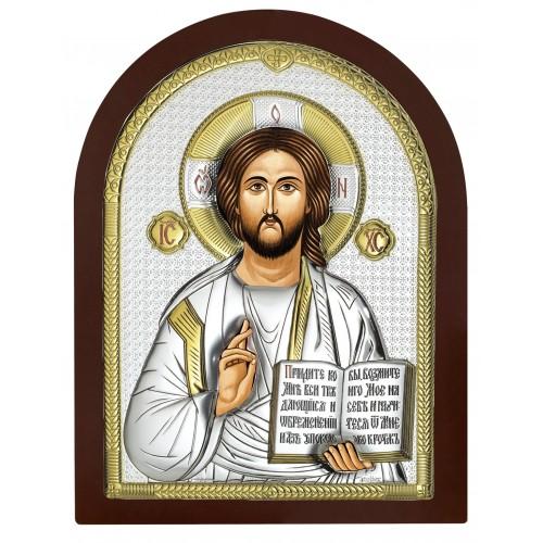 Obrazek srebrny Chrystus Pantokrator AE0803/6