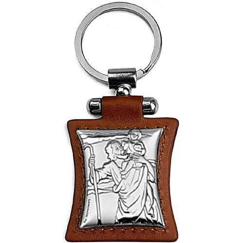 Brelok srebrny Święty Krzysztof  1111411