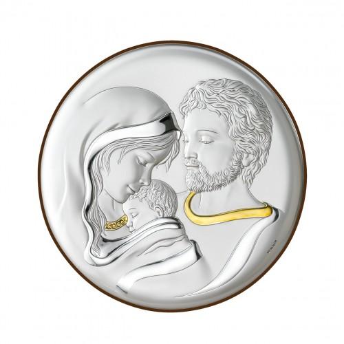Obrazek srebrny Święta Rodzina 18018/1
