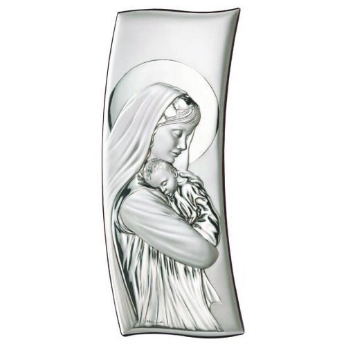 Obrazek srebrny Madonna z dzieciątkiem 30774
