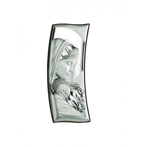 Obrazek srebrny Madonna z dzieciątkiem 30854