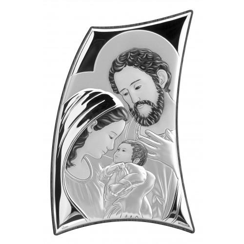 Obrazek srebrny Święta Rodzina 3541/5670