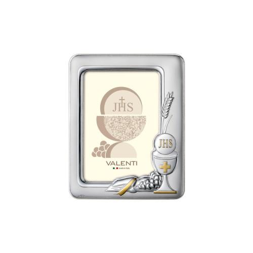 Ramka srebrna na zdjęcie 13x18 Pierwsza Komunia Święta 51061/4