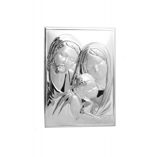 Obrazek srebrny Święta Rodzina 6275/2