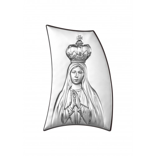Obrazek srebrny Matka Boska Fatimska 6334/2