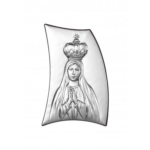 Obrazek srebrny Matka Boska Fatimska 6334/3