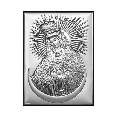Obrazek srebrny Matka Boża Ostrobramska 6346/3