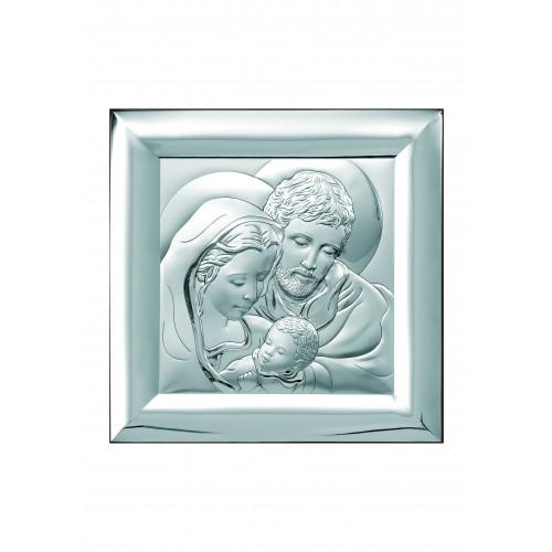 Obrazek srebrny  Święta Rodzina 6365/3