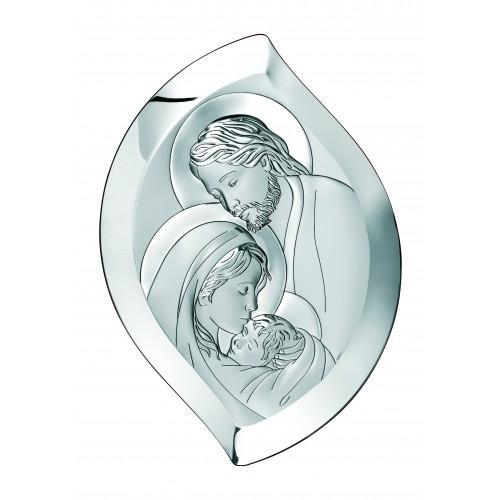 Obrazek srebrny  Święta Rodzina 6406/3