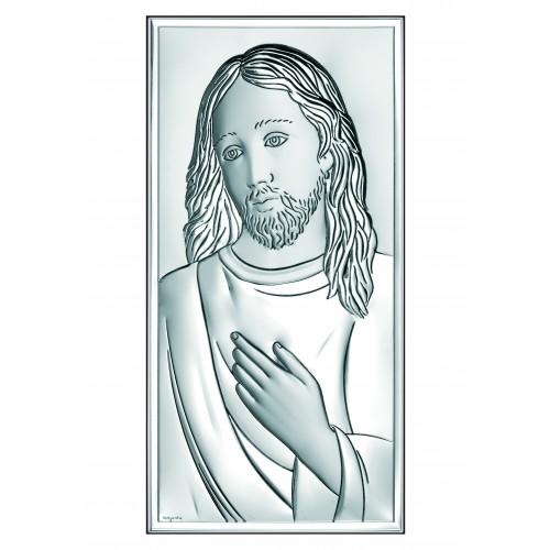 Obrazek srebrny Jezus Chrystus 6431/2