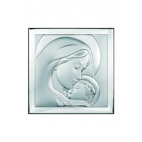 Obrazek srebrny  Madonna z dzieciątkiem 6436/2