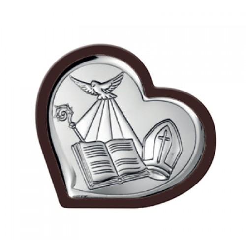Obrazek srebrny Pamiątka Bierzmowania 6537/1WM