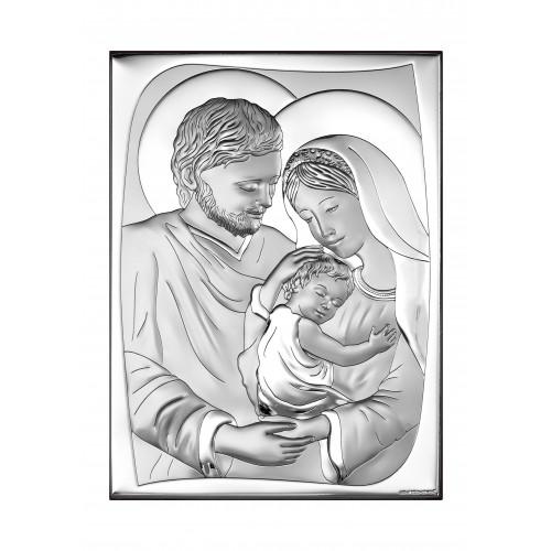 Obrazek srebrny Święta Rodzina 6545/5