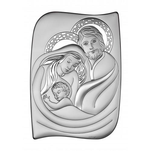Obrazek srebrny Święta Rodzina 6552/2