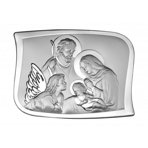 Obrazek srebrny Święta Rodzina 6553/2