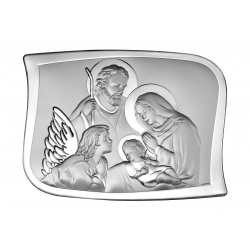Obrazek srebrny Święta Rodzina 6553/2X