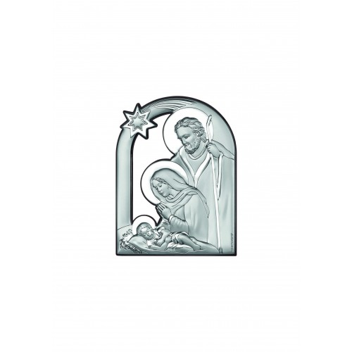 Obrazek srebrny Szopka Bożonarodzeniowa 6557/1