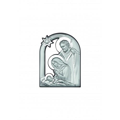 Obrazek srebrny Szopka Bożonarodzeniowa 6557/2