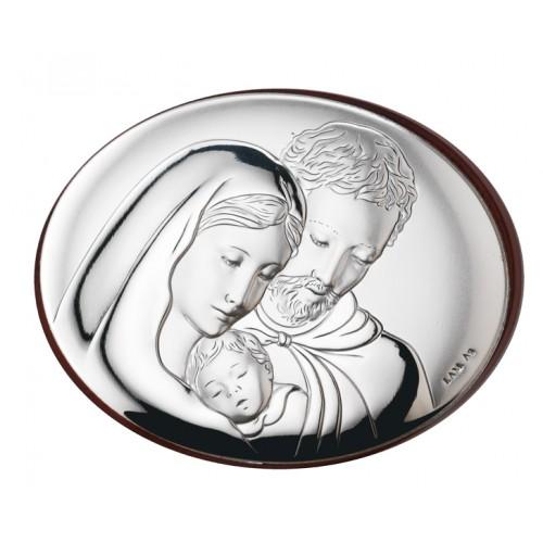 Obrazek srebrny Święta Rodzina 745 1