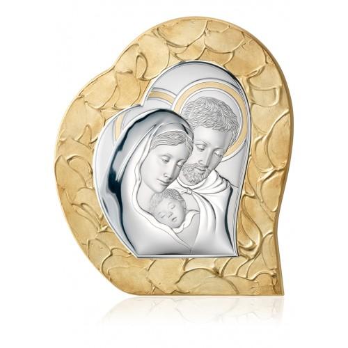 Obrazek srebrny Święta Rodzina 81052 3 ORO