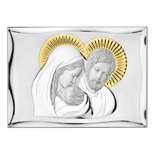 Obrazek srebrny Święta Rodzina 81301/7ORO