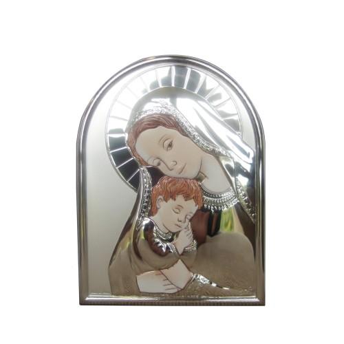 Obrazek srebrny Madonna z dzieciątkiem 9512922C