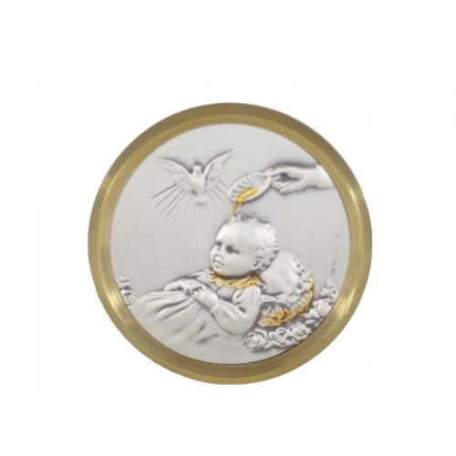 Obrazek srebrny Chrzest Święty AG1408/P820Y
