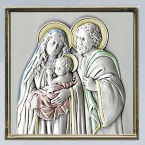 Obrazek srebrny Święta Rodzina AG1963/P233