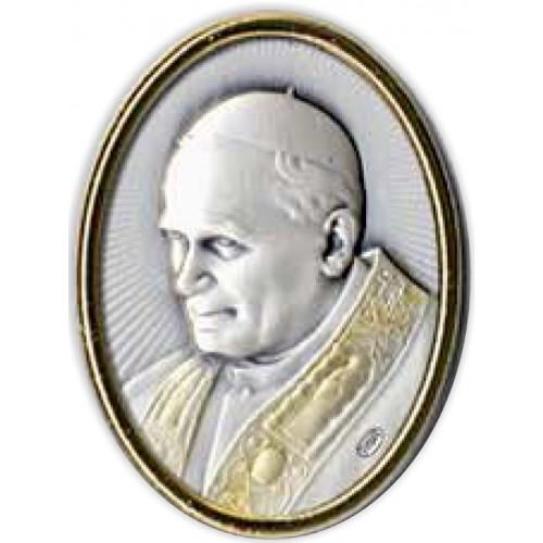 Magnes srebrny Papież Święty Jan Paweł II AG2582/573