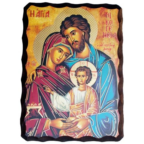 Ikona Stylizowana Święta Rodzina C23/TRICOS20x25R