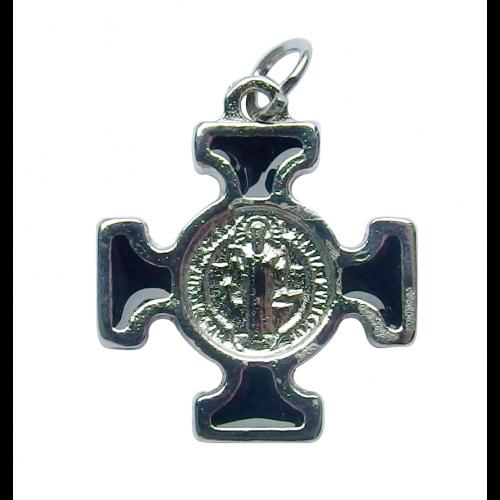 Krzyż Benedyktyński Metalowy Czarny CN2115NE