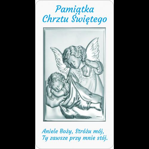 Panel Aniołek nad dzieciątkiem z latarenką D09/AZ01/6325/1