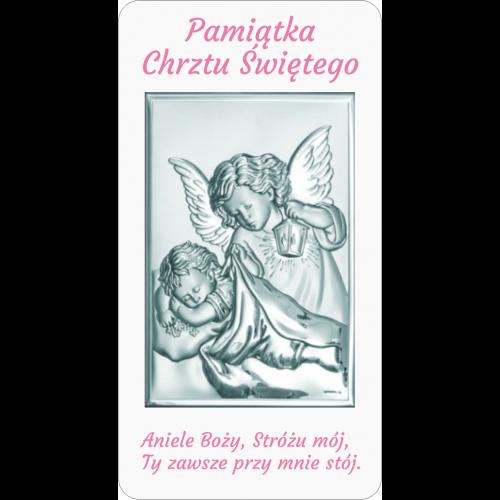 Panel Aniołek nad dzieciątkiem z latarenką D09/RA01/6325/1