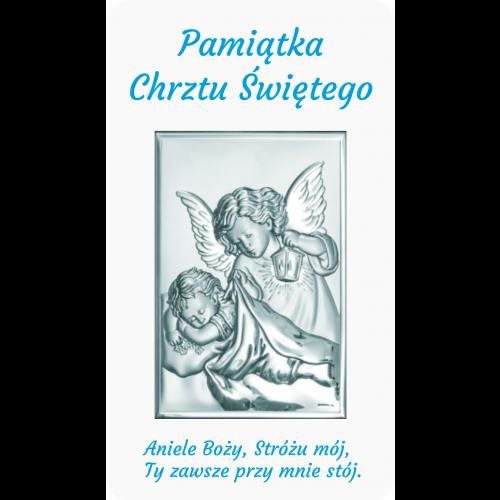 Panel Aniołek nad dzieciątkiem z latarenką D10/AZ01/6325/2