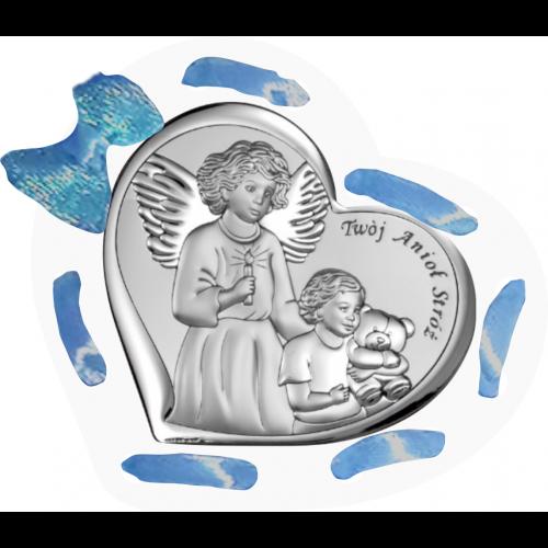 Panel Aniołek nad dzieciątkiem ze świeczką D11/AZ/6526/1