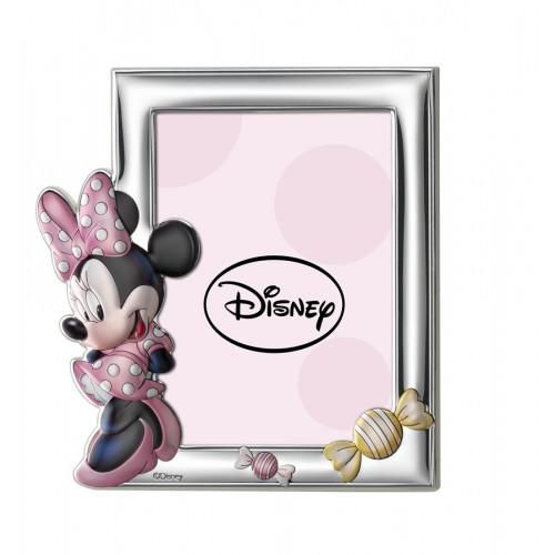 Ramka srebrna Disney D235/4RA Myszka Minnie