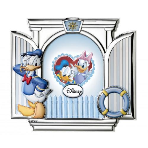 Ramka srebrna Disney D264/4C Kaczor Donald