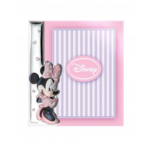 Ramka srebrna Disney D275/4XLRA Myszka Minnie