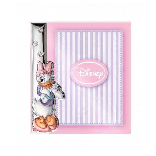 Ramka srebrna Disney D276/4XLRA Kaczka Daisy