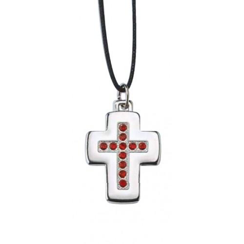 Krzyż metalowy GC3RS