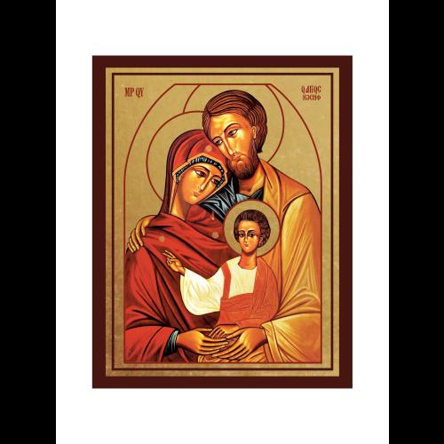 Ikona Złocona Święta Rodzina IK1D-02SZ
