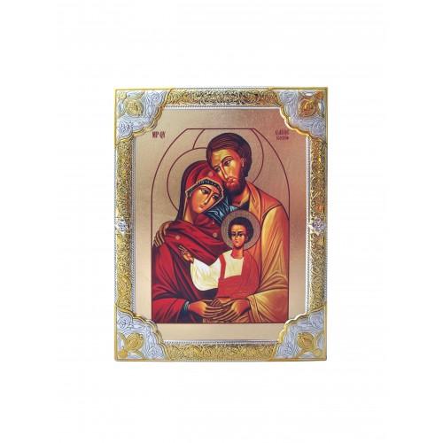 Ikona Srebrna Święta Rodzina IK1B-02SZR
