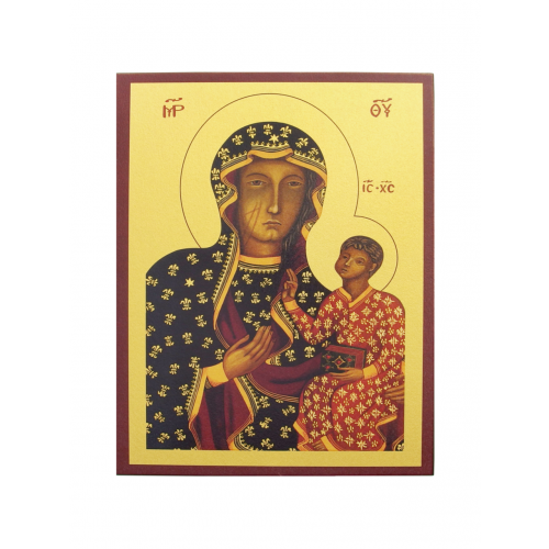 Ikona Prosta Matka Boska Częstochowska IK1A-04