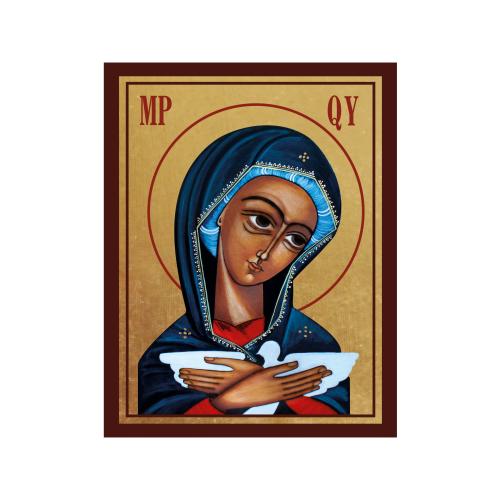 Ikona Złocona Matka Boża Pneumatofora IK1D-05SZ