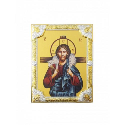 Ikona Prosta Chrystus Dobry Pasterz IK1A-06R