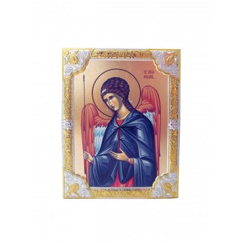 Ikona Srebrna Michał Archanioł IK1B-07SZR
