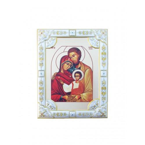 Ikona Srebrna Święta Rodzina IK1C-02SZR