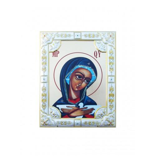 Ikona Srebrna Matka Boża Pneumatofora IK1C-05SZR