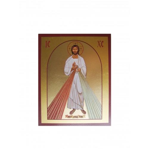 Ikona Złocona Jezu Ufam Tobie IK B-23