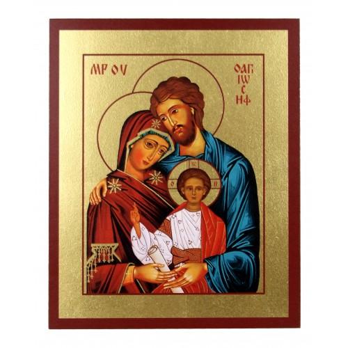 Ikona Złocona Święta Rodzina IK B-02